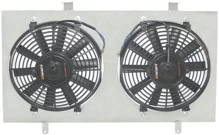 Mishimoto MMFS-INT-94 Performance Aluminum Fan Shroud Compatible With Acura Integra 1994-2001 Silver