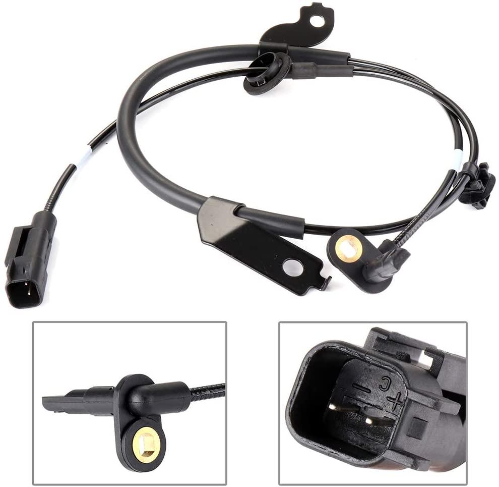 ECCPP Front Left ABS Wheel Speed Sensor Compatible with 2008 2009 2010 2011 2012 2013 2014 2015 Mitsubishi Lancer,2007 2008 2009 2010 2011 Mitsubishi Outlander ALS1785 Set of 1