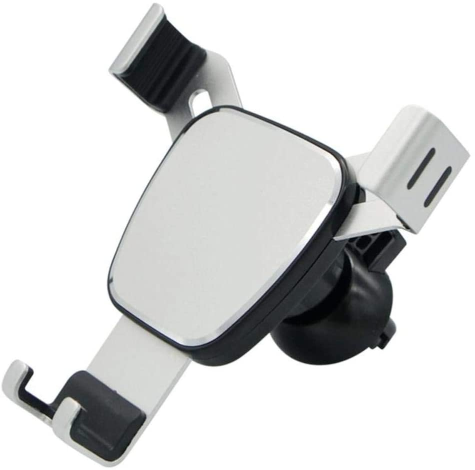 QWSNED Car Mobile Phone Holder car air Outlet Mobile Phone Holder Gravity seat Holder