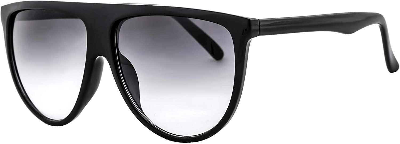 IVOZZO - Oversized Sunglasses Women Modern Plastic Trendy Inspired Stylish Black