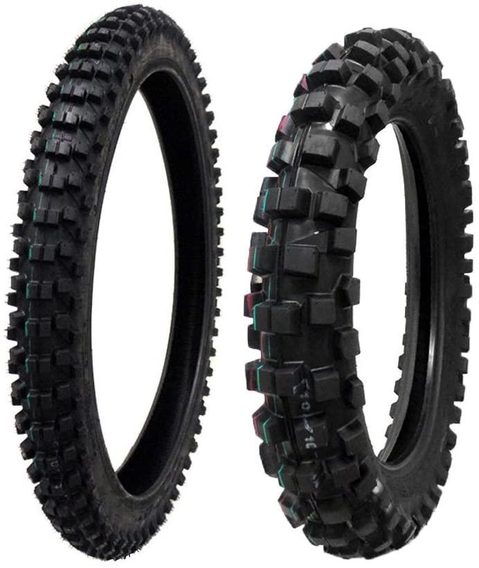 MMG Tire Set Front 80/100-21 Rear 110/100-18 Dirt Bike Off Road