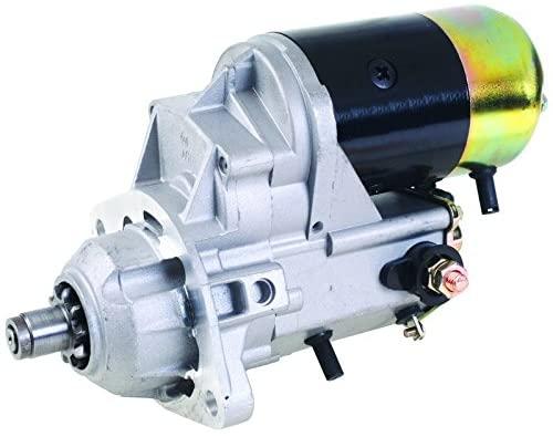 New Starter Replacement For Komatsu Wheel Loader WA120 WA180 WA250 WA253 3934119 3957593 228000-7900 228000-7901 228000-7902