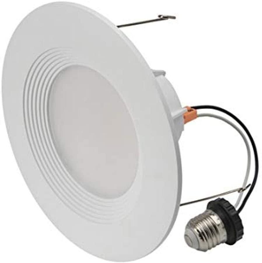 Cree Lighting C-DL6-A-650L-30K-B1 6 inch LED Retrofit Downlight 55W Equivalent (Dimmable) 650, lumens, Bright White 3000K
