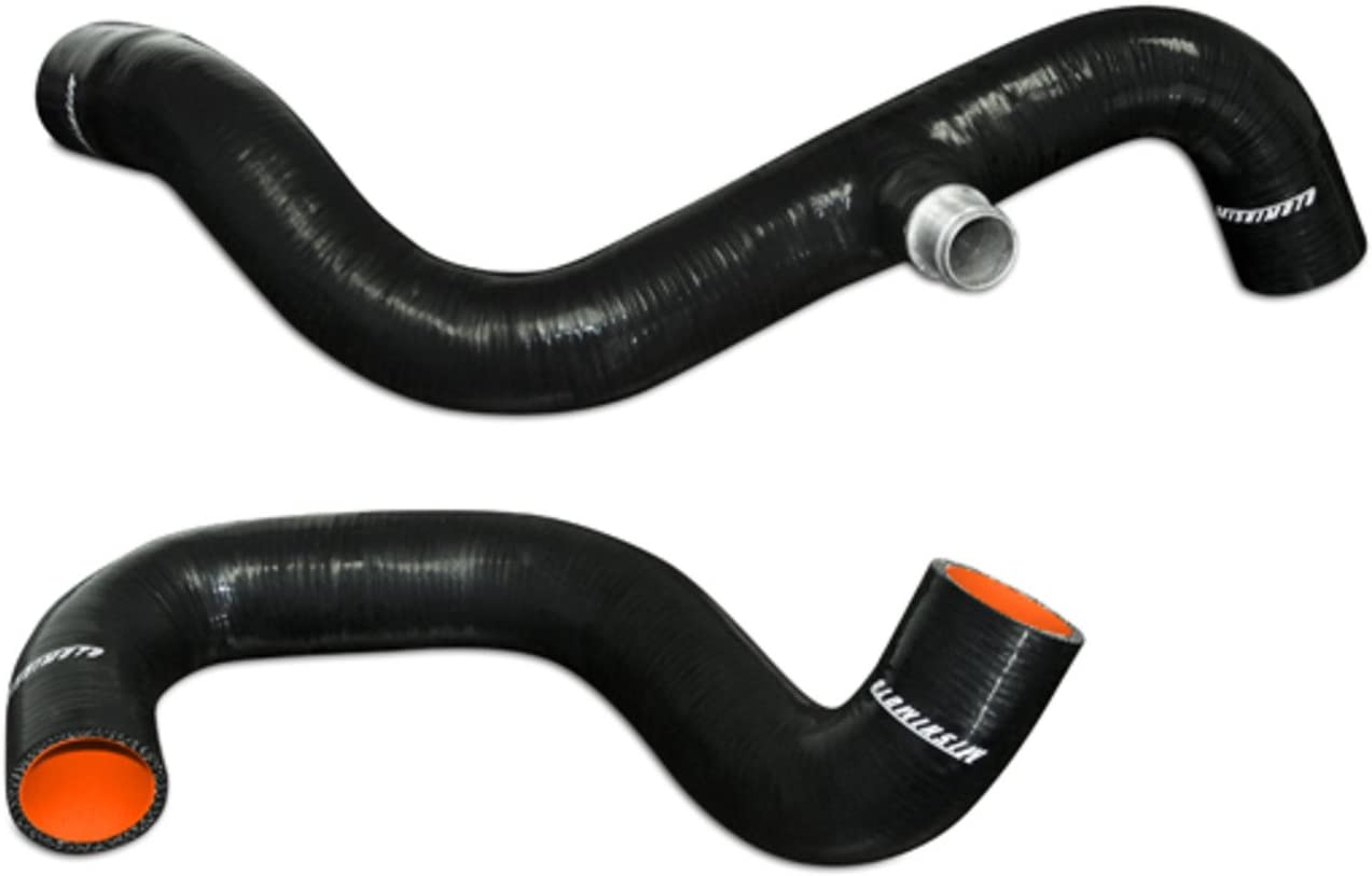 Mishimoto MMHOSE-F250D-94BK Silicone Radiator Hose Kit Compatible With Ford 7.3 Powerstroke 1995-1997 Black