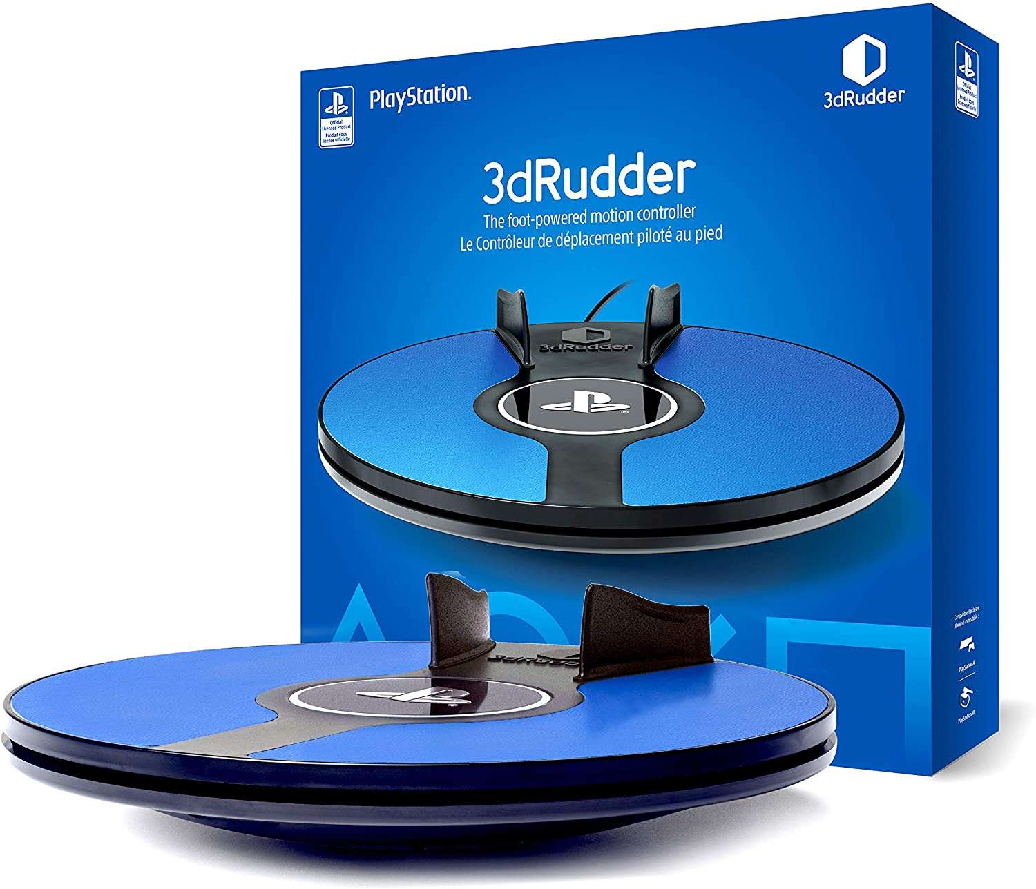 3dRudder for Playstation VR - Foot Motion Controller - Playstation VR - PSVR - Playstation Official Licensed Product