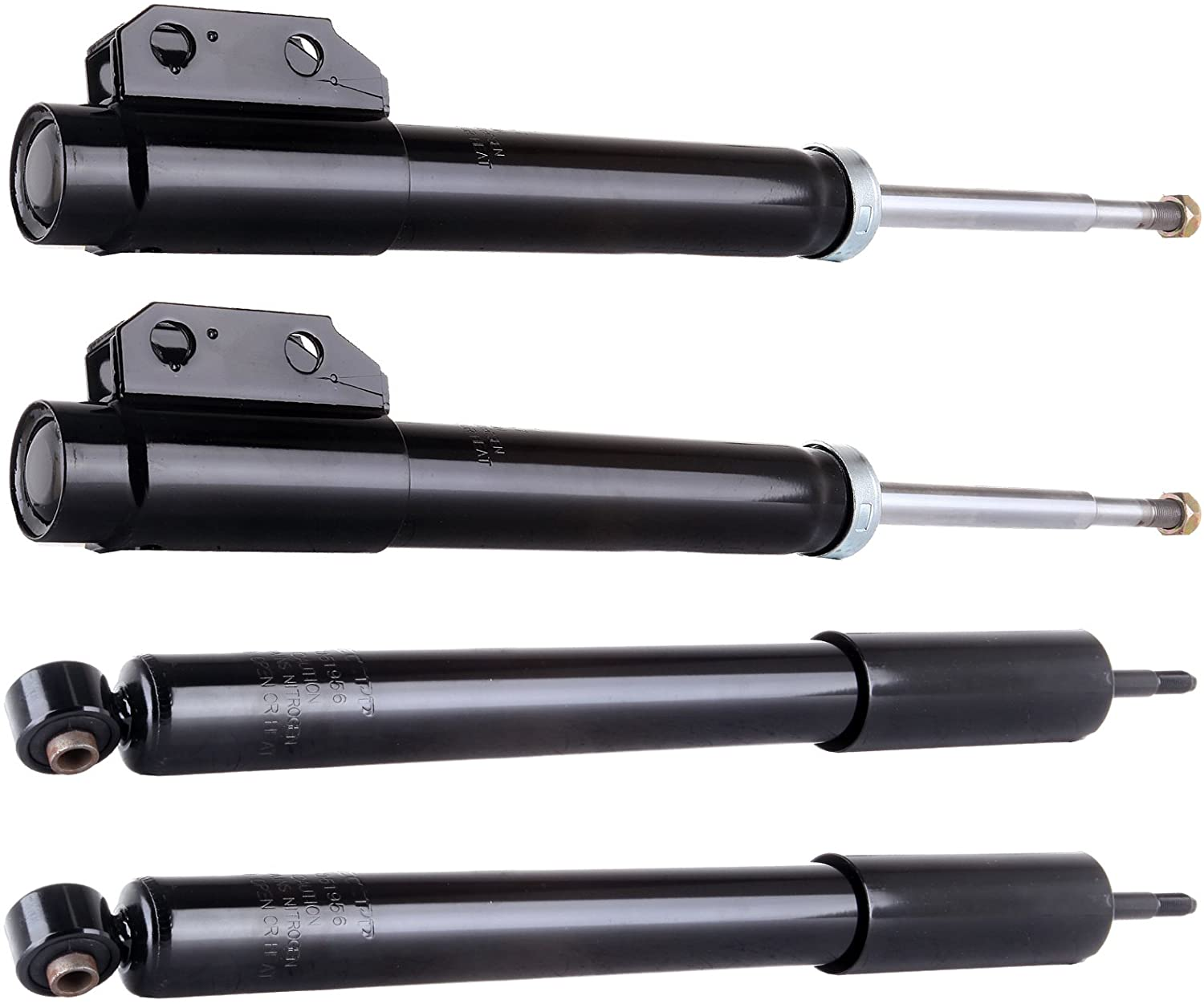 ANGLEWIDE Front Rear Auto Shocks Absorber Stuts Fits 1994-2004 ford Mustang 4x with 344433 235060