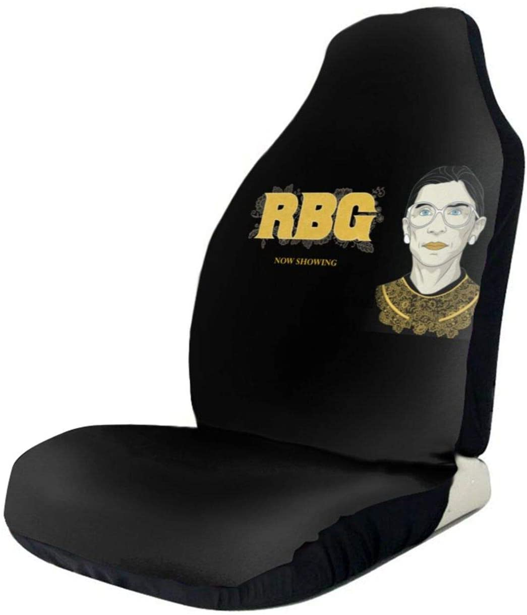 DASIDENG Notorious RBG Universal Front Seat Cover Bucket Seat Cover Blanket, Pad Protectors for Car, SUV