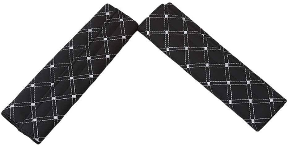 Timesuper 2Pcs Car Seat Belt Pad Soft Auto Seat Belt Shoulder Strap Cover Protector