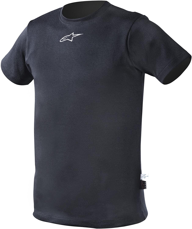 Alpinestars (475440-71-M Navy Blue Medium Nomex Short Sleeve Top