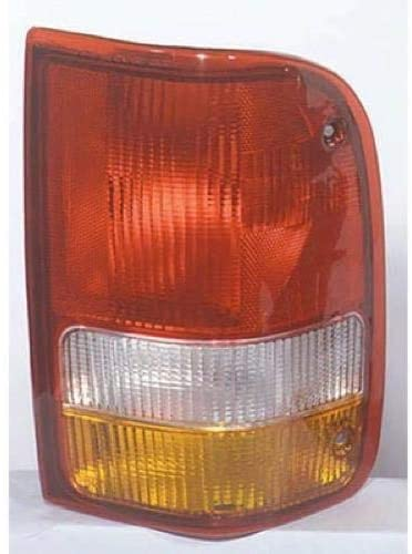 Go-Parts - for 1993 - 1997 Ford Ranger Rear Tail Light Lamp Assembly / Lens / Cover - Right (Passenger) F37Z 13404 A FO2801110 Replacement 1994 1995 1996