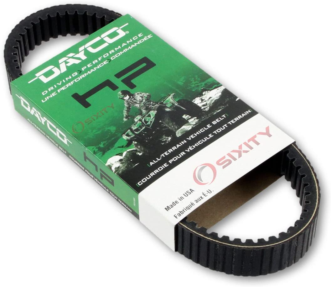 2000-2009 for Arctic Cat 500 4x4 Auto Drive Belt Dayco HP ATV OEM Upgrade Replacement Transmission Belts