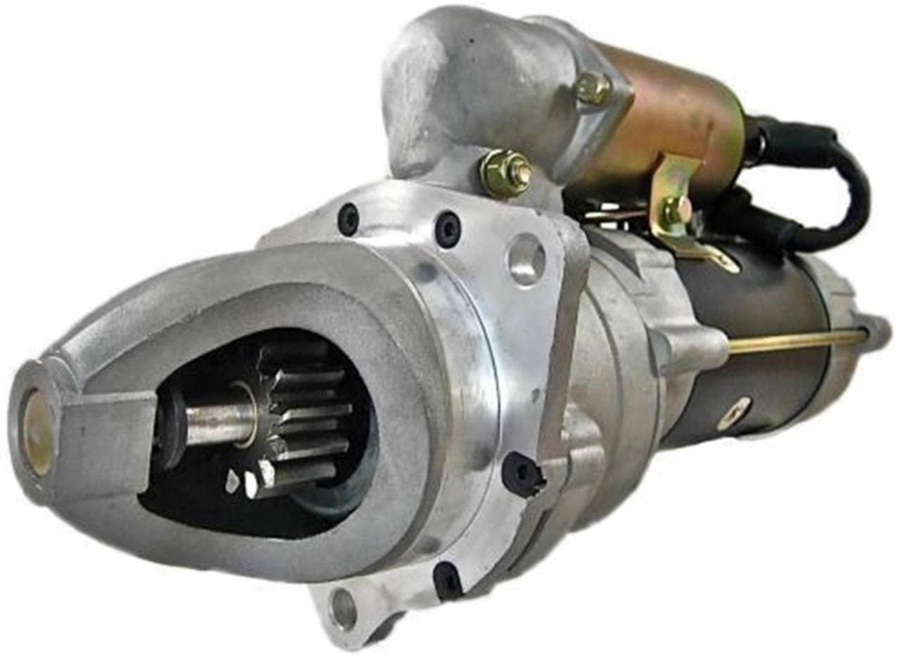 Rareelectrical NEW 24V STARTER MOTOR COMPATIBLE WITH KOMATSU LOADER WA200 WA300 6D105 600-813-4120 600-813-3390