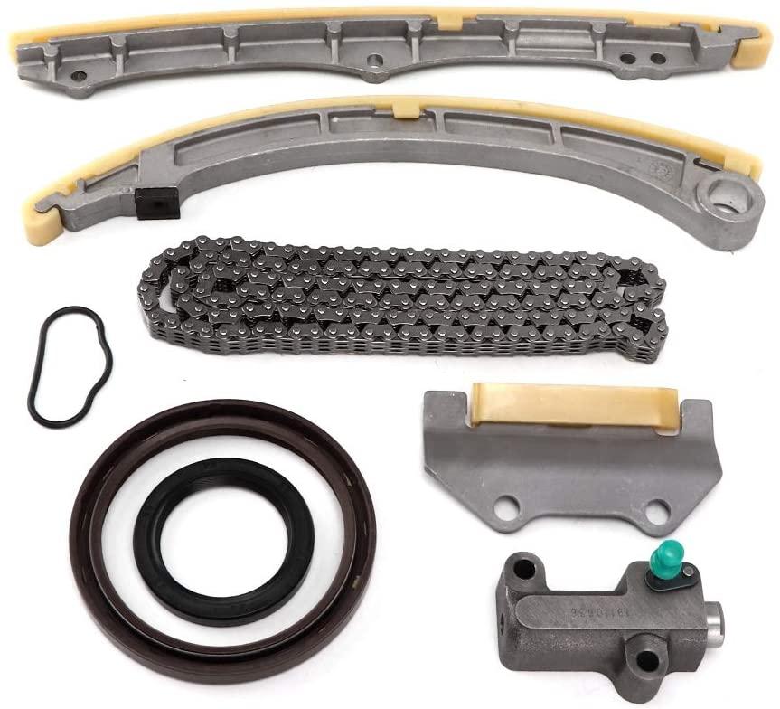 Timing Kit Engine Timing Chain Tensioner, Timing Chain Kit 14401-PNA-004 Fits for Honda Accord 2.4L / Civic K20Z3 K20A3 K20Z1 2.0L
