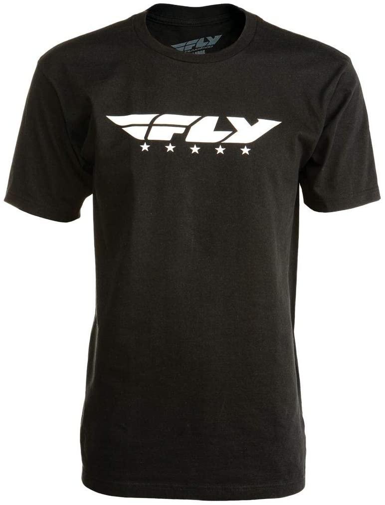 Fly Racing Street T-Shirt (Small) (Black)