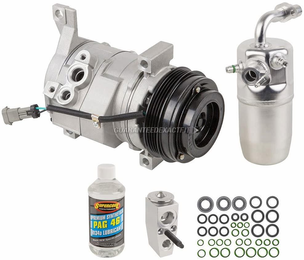 For GMC Sierra 1500 2500 HD 3500 HD AC Compressor w/A/C Repair Kit - BuyAutoParts 60-82045RK New