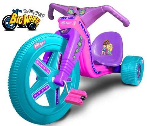 The Original Big Wheel - Hot Cycle Fashion Girlz 16 Trike Limited Edition w/ Decals by The Original Big Wheel