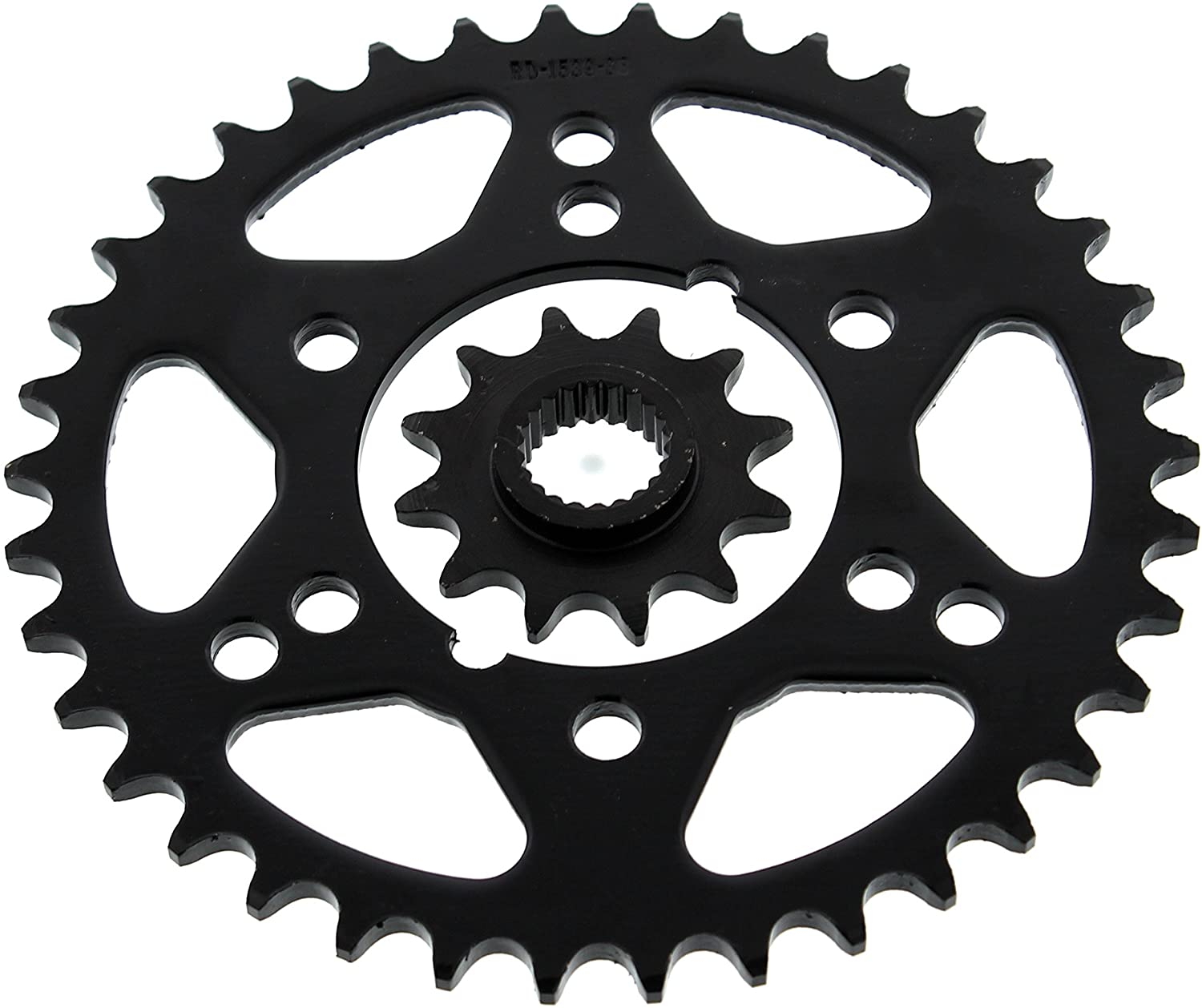 1995-1998 Polaris Magnum 425 2X4 Front and Rear Steel Sprocket 12/38