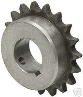 Martin Sprocket & Gear 35BS40 7/8 - Finshed Bore Sprocket - 35/3/8 in, Finished with Keyway, 7/8 in, 40, Steel