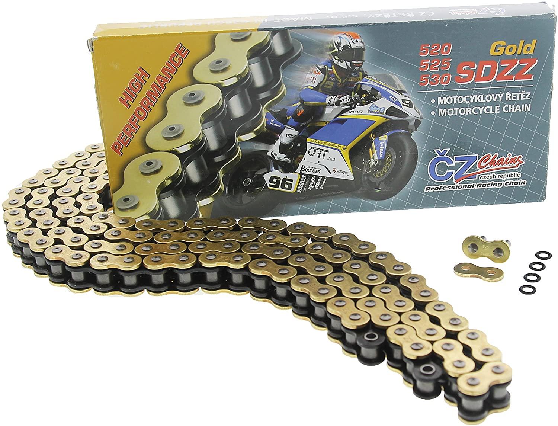 1996 1997 Fits Honda CBR900RR CBR 900RR CZ SDZZ Gold X Ring Chain 525-110