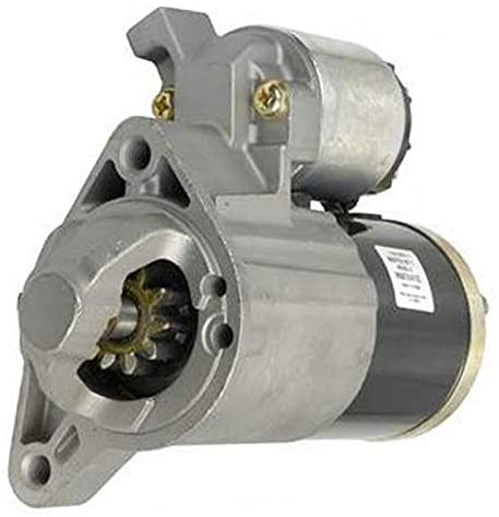Rareelectrical NEW STARTER MOTOR COMPATIBLE WITH 2006-09 JEEP COMMANDER 3.7 2005-09 JEEP GRAND CHEROKEE 3.7 56044734AA, 56044737AA M000T31471, M000T31471ZC, M0T31471ZC