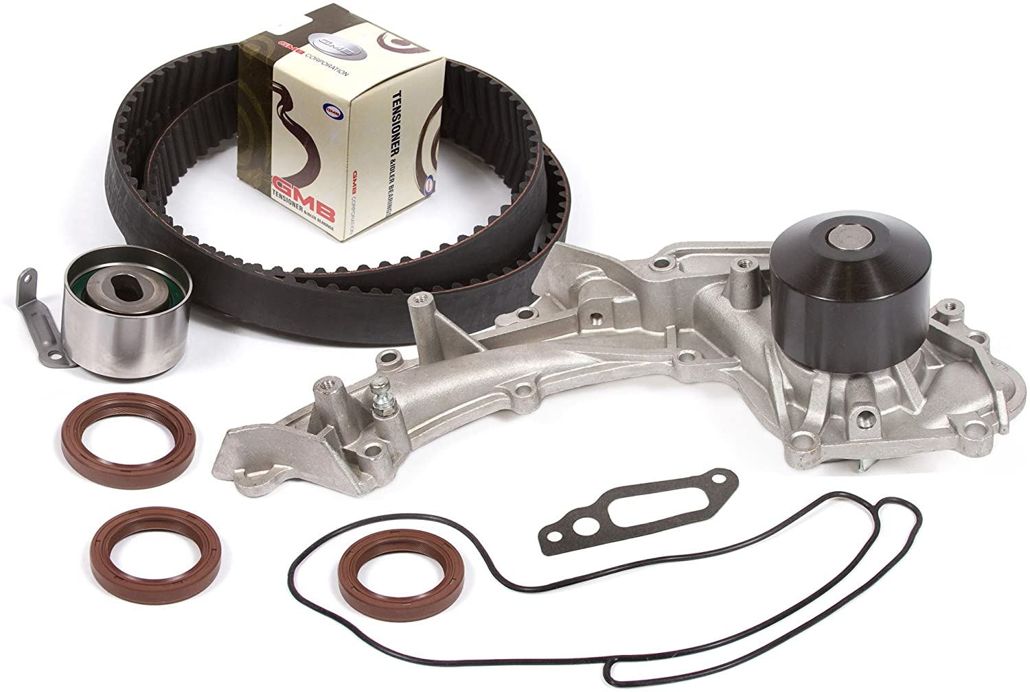 Compatible With 96-98 Acura 3.2 SOHC 24V C32A6 Timing Belt Kit Water Pump