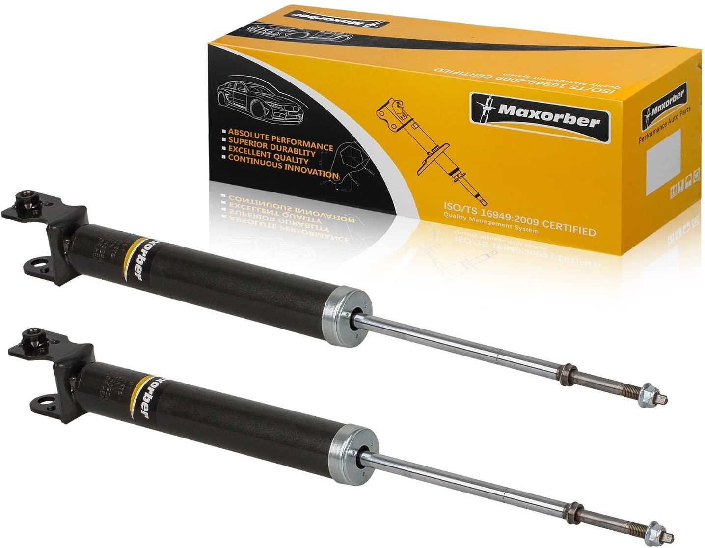 Maxorber Rear Set Shocks Struts Absorber Kit Compatible with G35 Coupe/Sedan RWD 2003 2004 2005 2006 Shock Absorber Shock Set 344491 5795 56110AC525