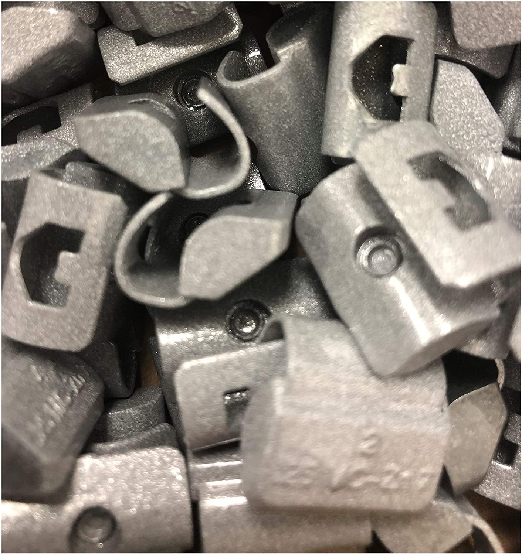 Hornet Zinc Clip On MC Type Wheel Weights (.25oz) 50 Pack