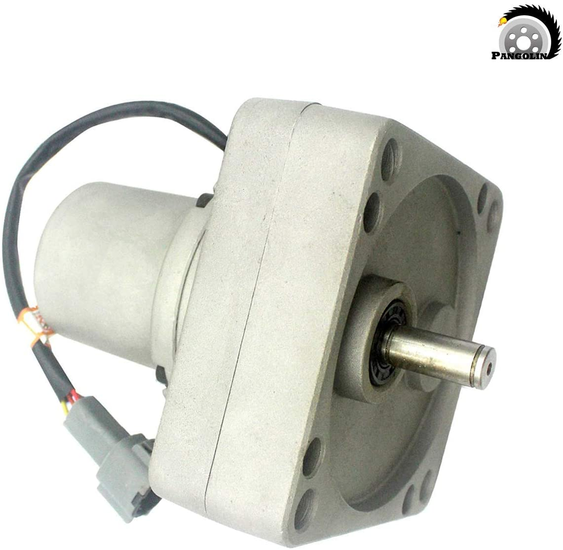 4257163 Stepping Throttle Motor Square Single Cable for Hitachi EX100-1 EX100-2 EX100-3 Governor Motor Excavator Parts