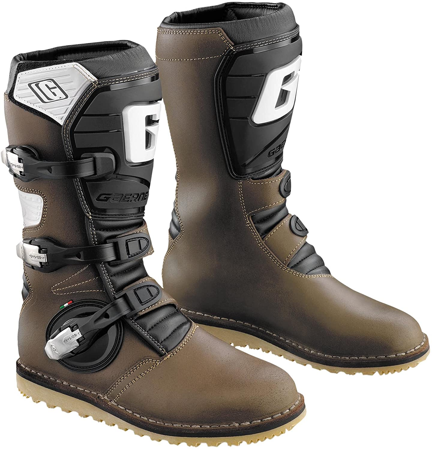 Gaerne Balance Pro-Tech Boots (12) (Brown)