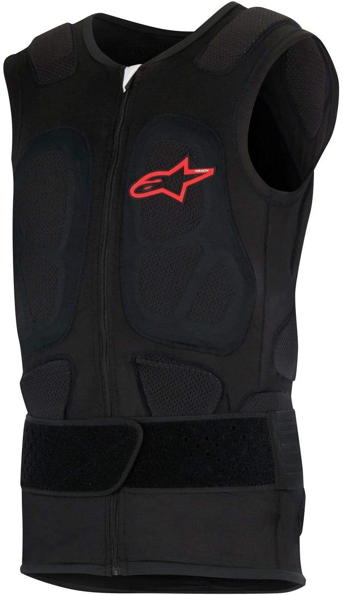 Alpinestars Men's 6508417-10-XS Vest (Track) (Black, X-Small)