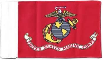 Marines - Motorcycle Flag