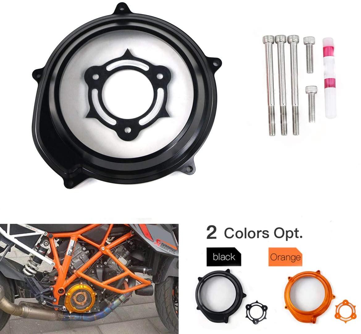 COPART Clutch Cover for KTM, Transparent Clutch Protector Cover Pressure Spring For KTM 1290 Superduke GT R 1090 1190 1050 Adventure