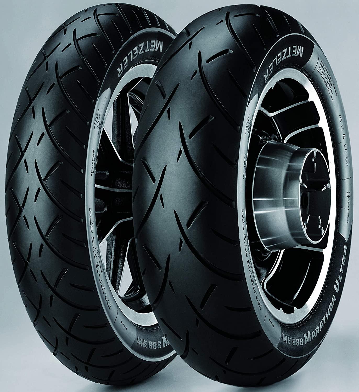 Metzeler ME888 Marathon Ultra Rear Motorcycle Tire MT90B-16 (74H) Black Wall - Fits: Harley-Davidson CVO Dyna Wide Glide FXDWGSE 2001