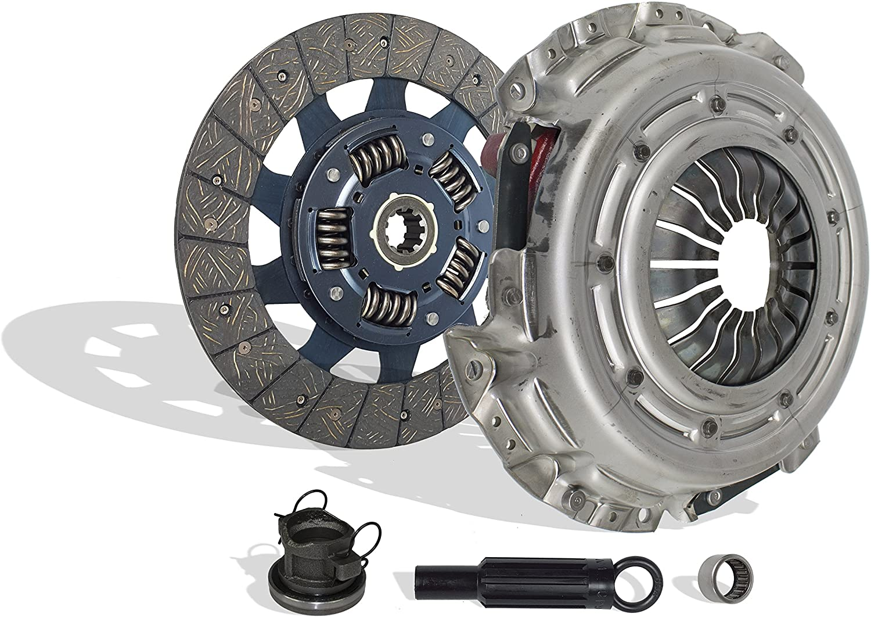 Clutch Kit Compatible With Dakota Ram 1500-3500 B 150-350 2500-3500 SXT TRX4 Sport 1994-2009 5.9L V8 GAS OHV Naturally Aspirated (Clutch Kit Works With 11