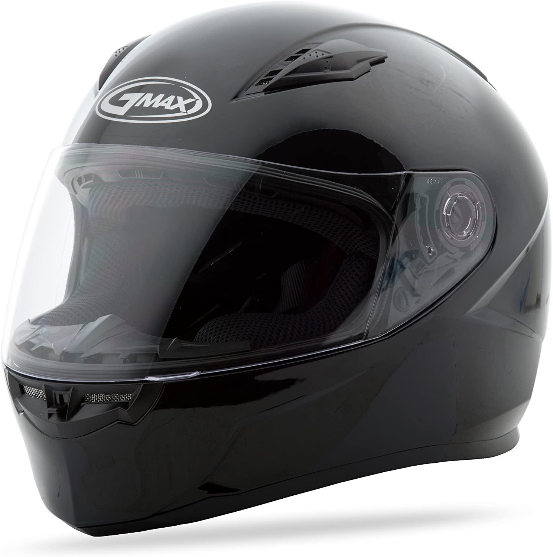 Gmax G7490028 FF49 Solid Helmet,(2X-Large, Black)
