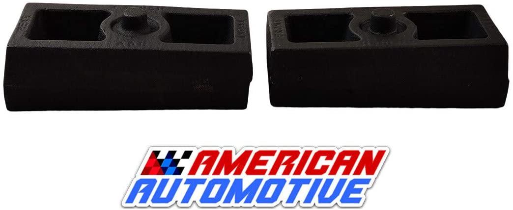 American Automotive 1999-2017 Tundra Lift Kit 1.5 Rear Solid American Steel Suspension Lift Blocks