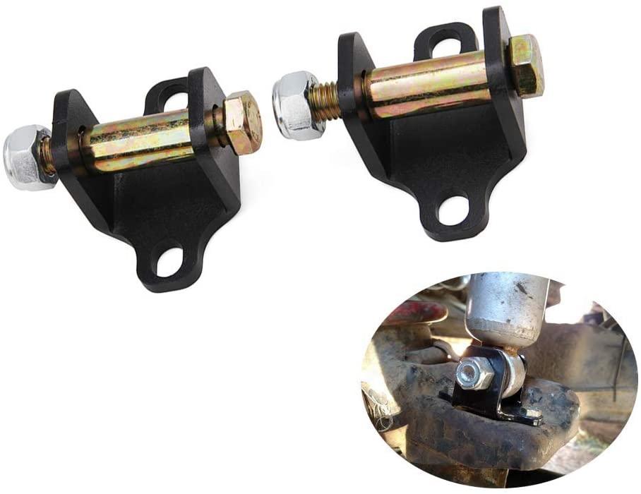 Hydraker Rear Shock Upper Bar Pin Eliminator Kit Fit for Jeep Wrangler TJ & Cherokee XJ,Comanche MJ ,Unlimited LJ 4WD