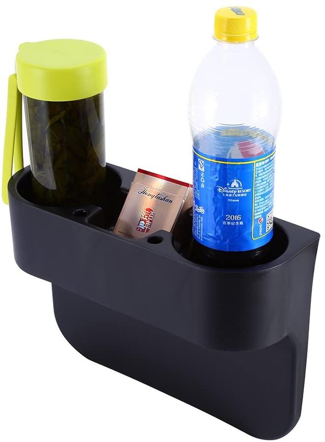 Yosoo 3 In1 Car Cup Holder, Car Seat Organizer, Multi-fuctional Universal Car Storage Box, Drink Coffee Water Holder