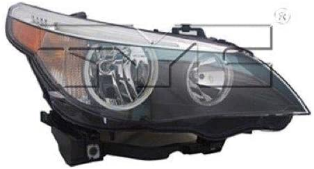 Go-Parts - for 2004 - 2007 BMW 530i Front Headlight Assembly Housing / Lens / Cover - Right (Passenger) Side - (4 Door; Sedan) 63 12 7 166 116 BM2503133 Replacement 2005 2006