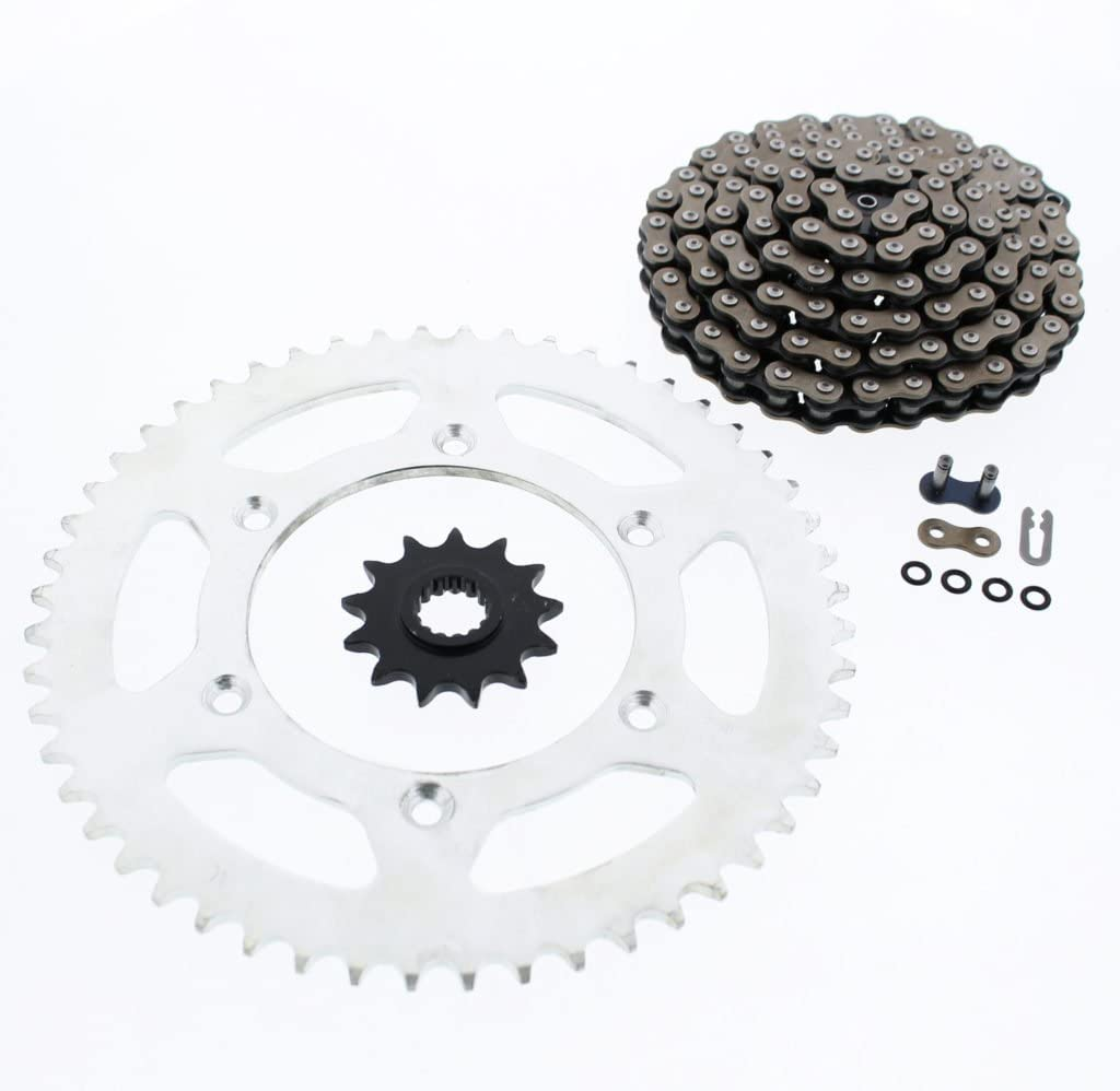 fits KTM 2007-2013 450 XC-F / 2008-2009 505 XC-F CZ X Ring Chain & Sprocket 13/52 120