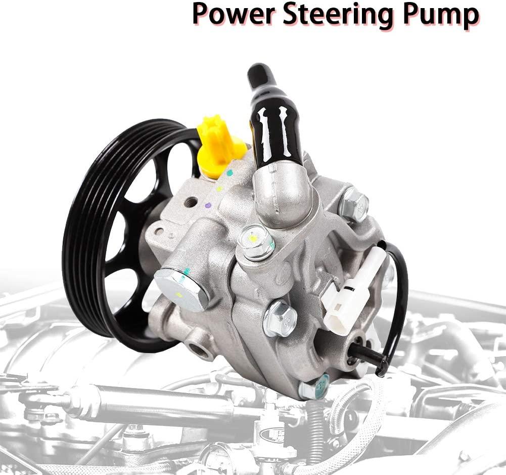 Pump TBVECHI Power Steering Pump Fits for 2008-2012 Subaru Forester Impreza 2.0L 2.5L DOHC