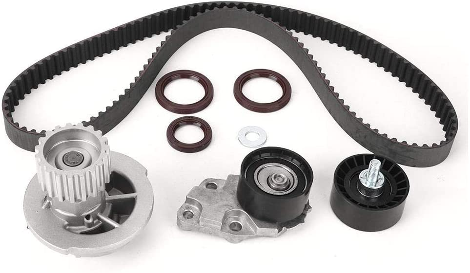 Timing Chain Set,Aluminum Alloy Engine Timing Belt Water Pump Tensioner Kit Fit for Holden Barina TK 2005-2011