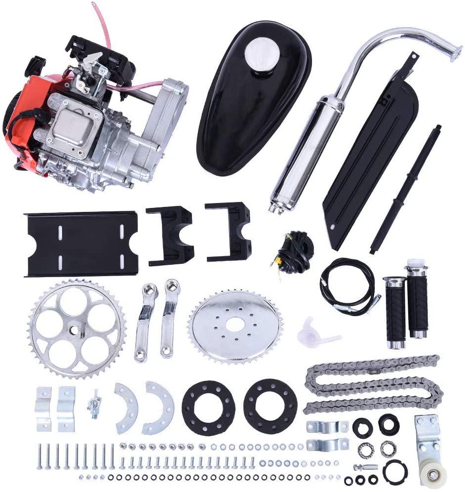 US Fast Shipment - Miaoao Full 49CC 4-Stroke Gas Petrol Motorized Bike Bicycle Engine Motor Kit Scooter