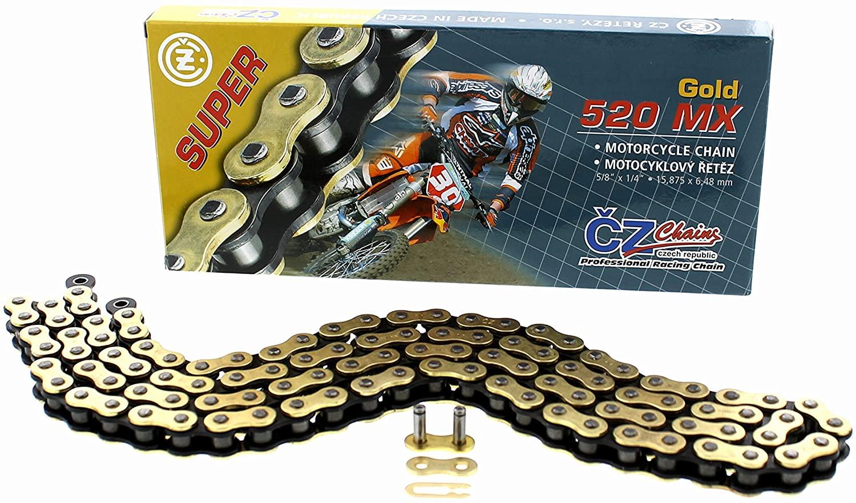 2007 2008 2009 2010 2011 2012 2013 2014 fits KTM 300 XC CZ 520 MX Gold Chain 120L