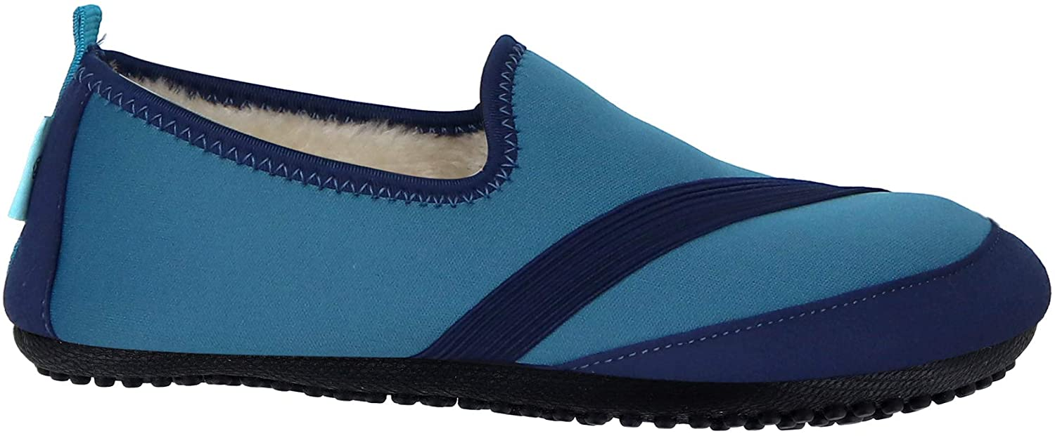 FitKicks KOZIKICKS Active Lifestyle Slippers Indoor/Outdoor Footwear Shoes for Women Black