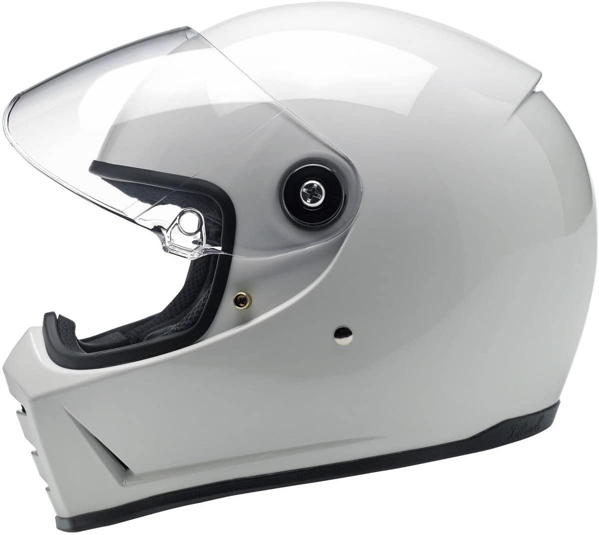 Biltwell Lane Splitter Helmet - Gloss White (XX-Large)