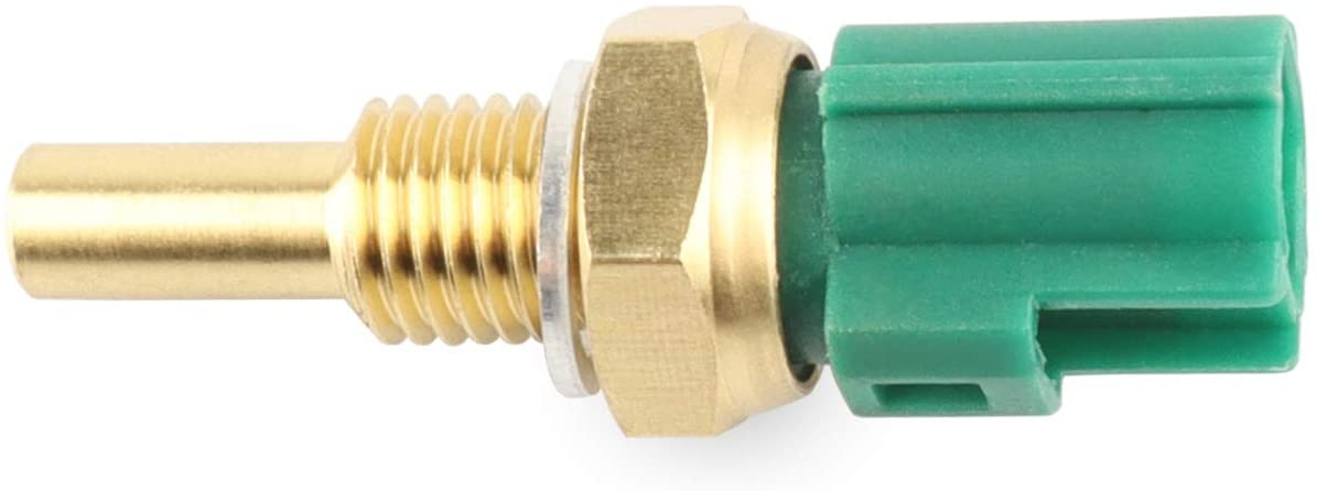 Engine Coolant Temperature Sensor, ECT Temp Sensor Replace D583, 19022018 Compatible with Toyota, Scion, Pontiac, Mazda - 4Runner, Avalon, Camry, Corolla, RAV4, Sienna, Solara, Tacoma, Tundra, More