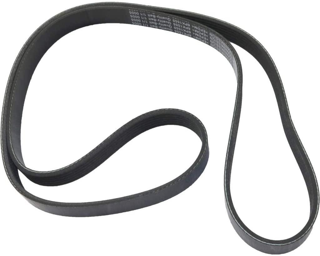 For Ford Escape Drive Belt 2013 14 15 2016 | Alternator & Power Steering | Serpentine Belt | 6 Rib Count