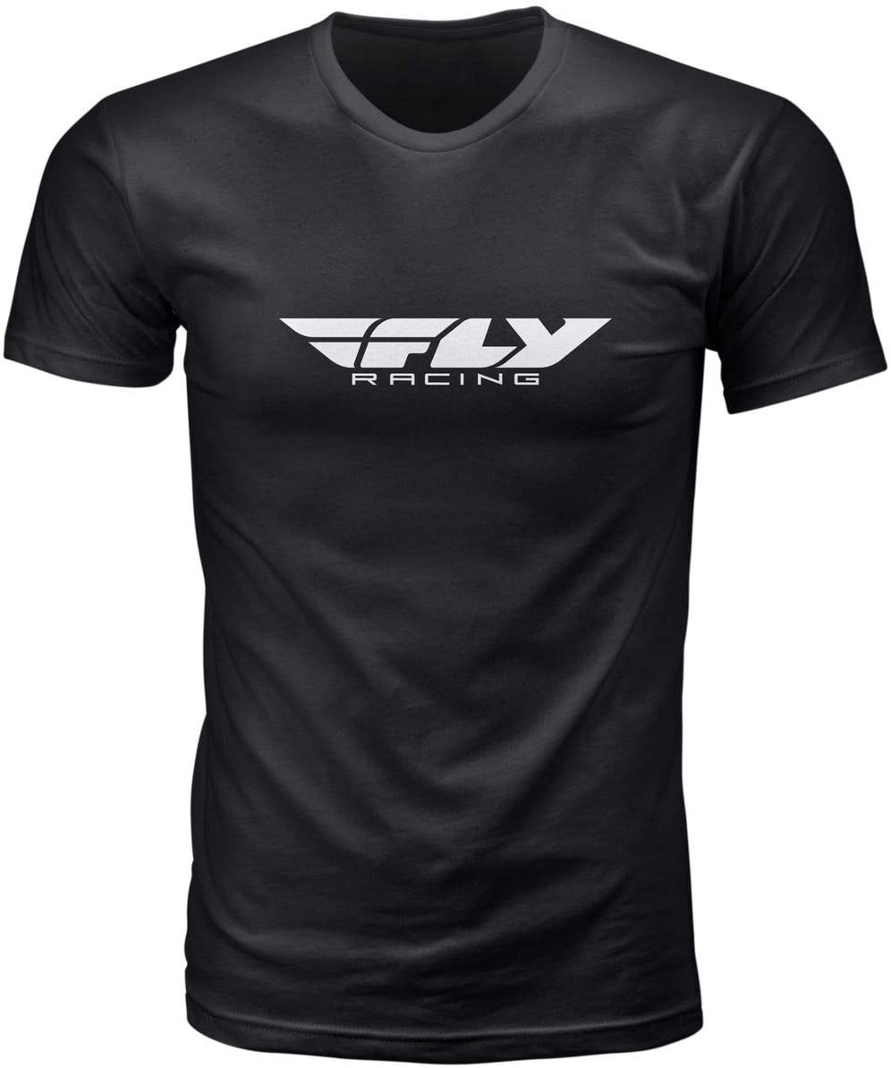 Fly Racing Corp T-Shirt (Small) (Black)
