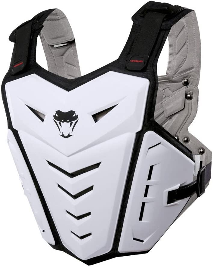 PETA Motorcycle Armor Body Guard Vest, Street Bike Riding Off-Road Racing Cycling Skiing Motocross Adult Chest Body Protector Shirt Jackets Clothing, Men Sport Back Protection Vests Gear Protective